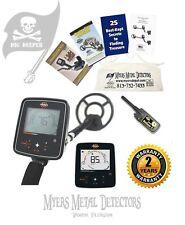 Whites TreasureMaster Metal Detector Bundle + Bullseye II Pinpointer+DigMaster