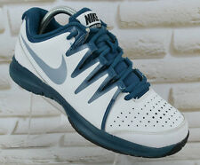 NIKE Vapor Court Womens White Leather Tennis Shoes Trainers Size 6 UK 40 EU