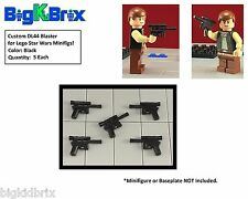 x5 Each DL44 Blaster Blasters for LEGO Star Wars Han Solo Minifigs BLACK #3