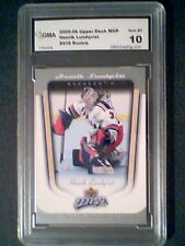 HENRIK LUNDQVIST  05/06 AUTHENTIC GRADED ROOKIE CARD GMA MINT 10