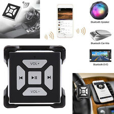 Wireless Bluetooth Car Steering Wheel Media Remote Button For iPhone6 6Plus 7