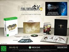 Final Fantasy Type-0 HD Collectors Edition Artbook Manga Steelbook Xbox ONE NEU