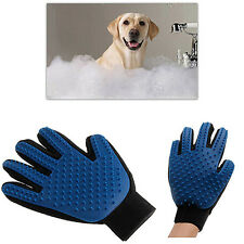 PET DESHEDDING CLEANING BRUSH GLOVE DOG CAT HAIR MASSAGE GROOMING GROOMER HANDY