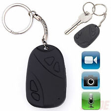 Mini Digital Hidden Audio Video Recorder HD Camcorder Camera Car Key Chain Fob