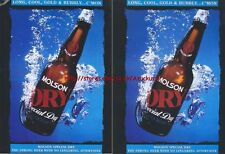 Molson Dry Beer1993 Magazine Advert #2287