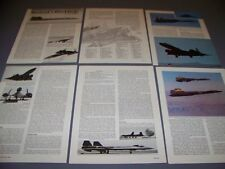 VINTAGE..LOCKEED SR-71A BLACKBIRD ..HISTORY/PHOTOS/CUTAWAY..RARE! (692A)