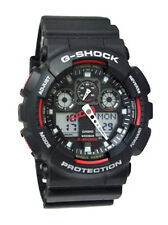 Casio GA100-1A4 G-Shock X-Large Red Black Ana/Digi  Men Watch NEW