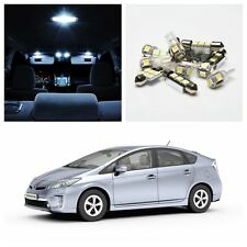 11 x Xenon White LED Bulb Light Interior Package Kit for 2004-2014 Toyota Prius
