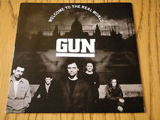 "GUN - WELCOME TO THE REAL WORLD     7"" VINYL PS"