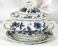 Blue Danube Dinnerware Covered Sauce Bowl with Underplate