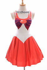 Sk-04 taille s-m sailor moon mars rouge red robe dress cosplay manga japon anime
