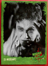 NIGHT OF THE LIVING DEAD - 1968 film - Card #23 - No Escape? - Unstoppable