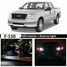 2004-2008 Ford F-150 17x White Interior + Reverse LED Light Package Kit + TOOL