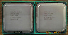 LOT OF 2 - Intel Xeon E5420 2.5GHZ Quad Core Processors - SLBBL