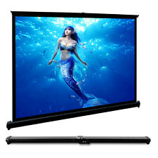 50 Inch 4:3 HD Projection Screen Portable Home Theater Cinema for Movie Meeting