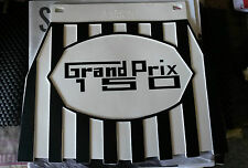 Lambretta Grand Prix 150 Black & White Stripe Cuppini Mudflap Rubber Type