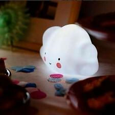 Lovely Cloud Shape Night Light Emitting Kids Children's Room LED Lamp Decor Gift