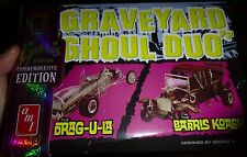AMT GRAVEYARD DUO 1/25 Model Car Mountain KIT DRAGULA & GEORGE BARRIS KOACH NEW