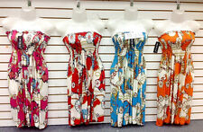 L3 LOT 10 Women Summer Boho Knee Sun Dresses Tops Mixed Juniors Apparel S M L XL
