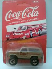 Coca Cola Brand Chevy Off Road Truck  4X4 (HARTOY) 1/64 Scale (1988)