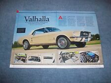 """1967 Ford Mustang Convertible Survivor Article """"Valhalla"""" 100% Mint"""