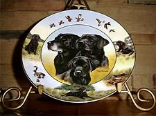 Black Labradors Lab Dogs, Generations Of Champions, Nigel Hemming Lab Dog Plate