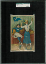 SGC 3 1903 Tetlow YALE FENCING College Girl Series