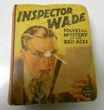 1946 INSPECTOR WADE Solves The Mystery Of The RED Aces BIG LITTLE BOOK FN