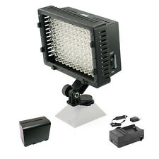 Pro 1 LED video light + NP-F970 battery for Panasonic HMC80 HPX370 AF100 HD DV
