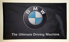 BMW banner flag HIGH QUALITY MINT 3'x5' Grommets 1M M3 M5 M6 Ultimate Driving
