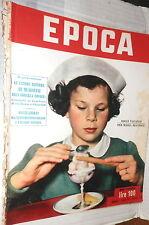 EPOCA 2 agosto 1952 Maria Beatrice di Savoia Guerra in Vietnam Cartier Bresson