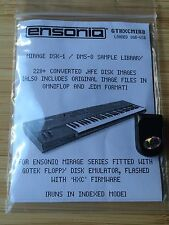 Ensoniq Mirage - Loaded USB key for HXC Gotek Floppy emulator 220+ disk img DSK