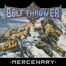 Bolt Thrower-Mercenary- Collectors Edition 180g Black Vinyl Reissu+ Giant Poster