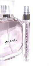 Chanel Chance 10ml Eau Tendre Eau de Toilette Spray Travel SAMPLE Purse 0.34oz