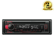 Kenwood KDC-110UR Car CD MP3 Stereo Tuner USB Aux Android Red Illumination