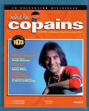 ►SALUT LES COPAINS -COLLECTION OFFICIELLE LIVRE + CD1973 MICHEL DELPECH  ROUSSOS