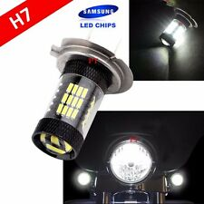 H7 Samsung (1 Pc) LED 57 SMD White Xenon 6000K Headlight Light Bulb Motorcycle