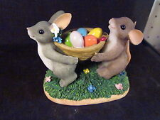 Charming Tails HAPPINESS IS MADE TO BE SHARED Ltd Ed 88/129 Jelly beans Rabbit