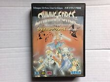 Sega Mega Megadrive Vtg Game #retrogaming Shining Force No Map Included