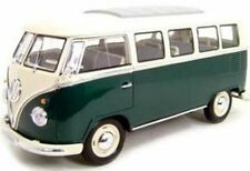 1:18 Welly Volkswagen VW T1 Samba Bully Bus 1962  grün
