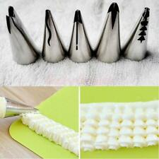 5pcs Russian Tulip Icing Piping Nozzles Cake Decoration Tips Cooking Tools Set