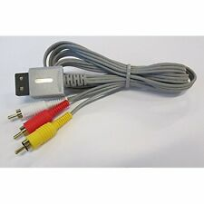 Composite AV Cable For Nintendo Wii By Mars Devices Brand New 1Z