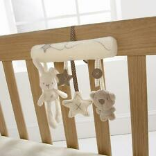 Lovely Mamas&papas Cot Hanging Baby Rattle Soft Plush Rabbit Musical Toy Gift