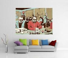 El Gran Lebowski Pulp Fiction Coen Brothers Tarantino Gigante Pared Arte cartel
