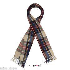 NEW Tartan Plaid Cashmere Scarf Warm Shawl Stripes Ladies Womens Wrap Long UK