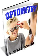 Optometry 29 Vintage Books - Optometrist,Opician,Eyes,Vision,Optics,Optical Aids
