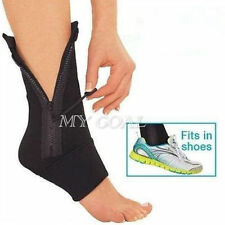 Practical Compression Ankle Support Zipper Wrap Sock Genie Pain Durable