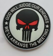 NEW THE PUNISHER SF/SEALS Velcro Patch Glow In The Dark  239