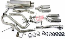 OBX CATBACK EXHAUST SYSTEM 03 04 05 06 Hummer H2 6.0L SUV SUT Dual Exit / Tips