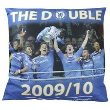 Chelsea FC 2009-2010 Champions Pillow 40 cm x 40 cm new with tags EPL Blues FA